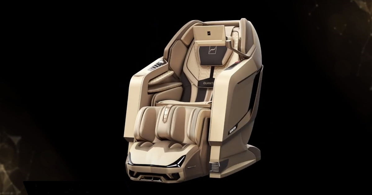 Ridiculous $30,000 massage chair has A.I voice control and blackout-proof power