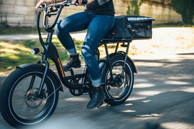 versatile radrunner electric utility bike can carry a passenger or cargo 03
