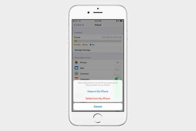 Here's How to Restore Contacts on an iPhone from iCloud