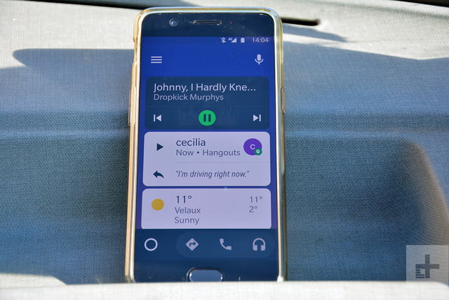 android auto november 2018 update focuses on messaging media rg 11 18 5