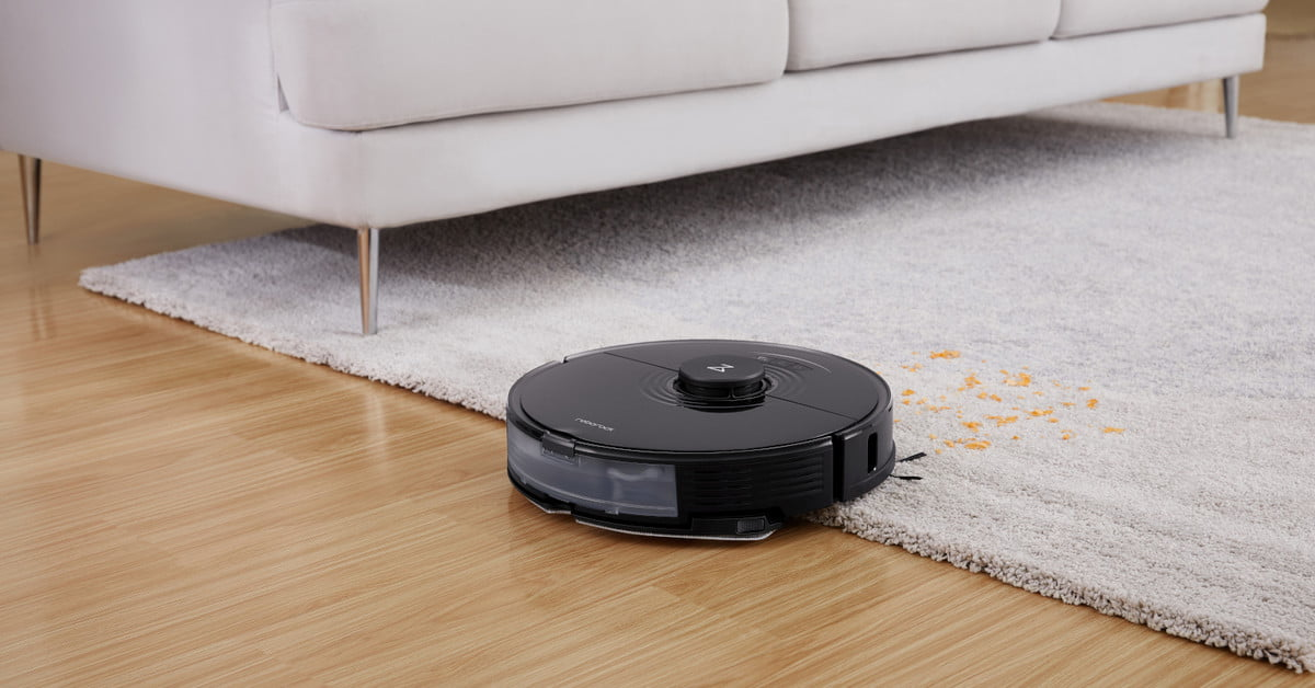 Roborock S7 robot vacuum erases tough, dry stains through sonic mopping