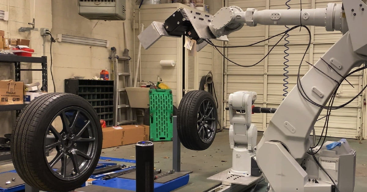 Robots Will Change Your Tires Way Faster Than a Mechanic | Digital Trends