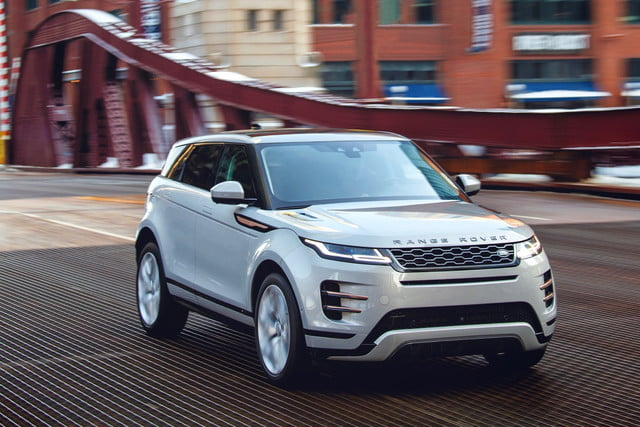 2020 land rover range evoque gets familiar look smarter tech