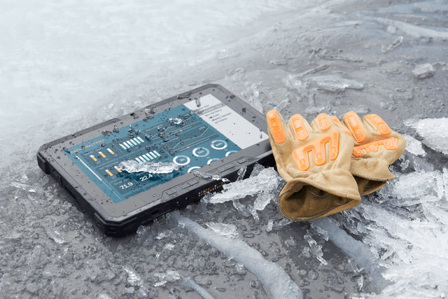 tough stuff dells new latitude 12 rugged tablet is the right tool for any job ice