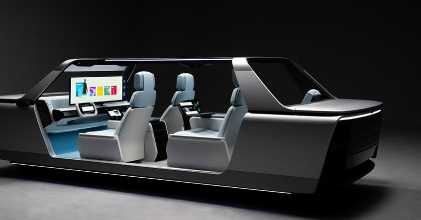Samsung's Digital Cockpit concept tech can turn smart cars into mobile offices