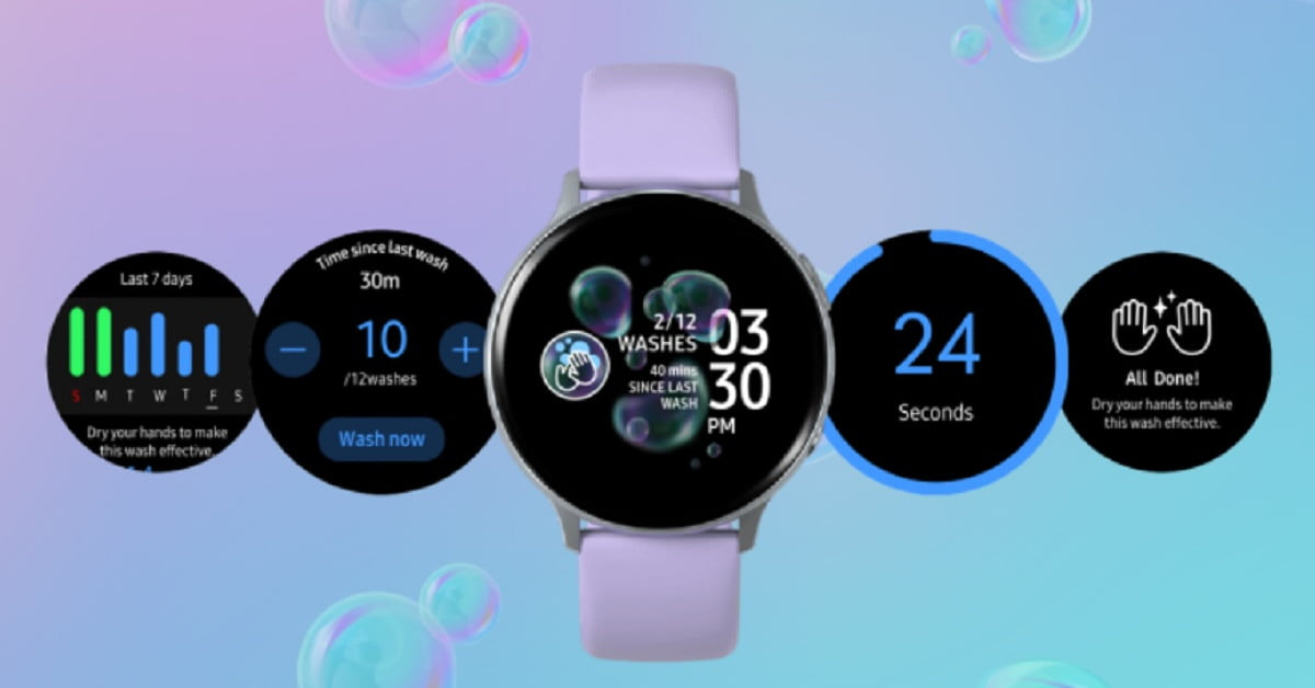 Samsung Galaxy Watch Owners Should Download Hand Wash App