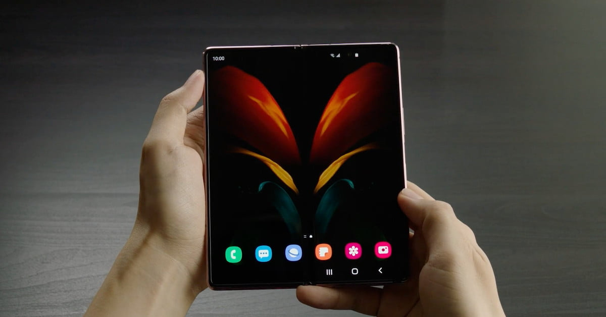 Samsung's Galaxy Z Fold 2 foldable phone has edge-to-edge screens inside and out