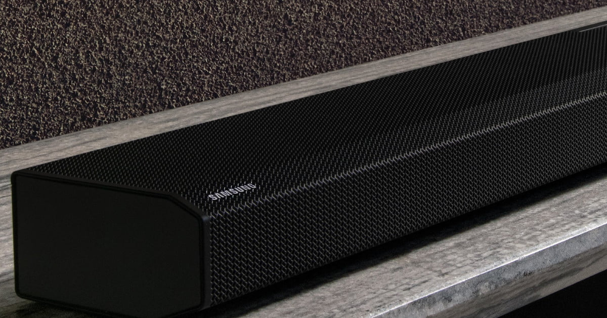 Samsung's New Soundbar Is a 16-channel Dolby Atmos Monster