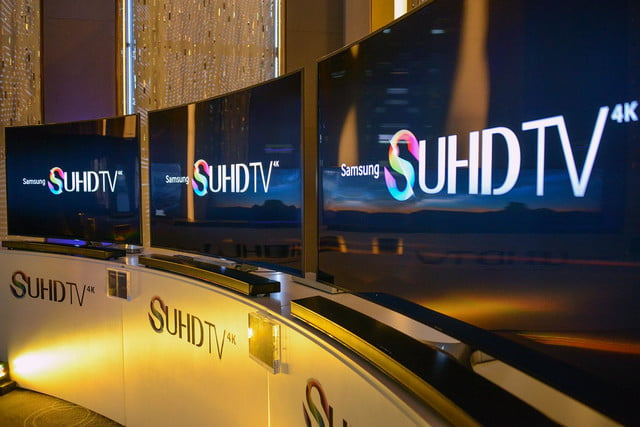 samsung suhd js9500 hdr wcg first look video  explained