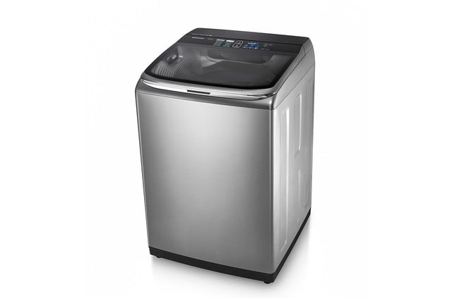 samsung introduces addwash mid control and smart features as ces 2015 top load washer with