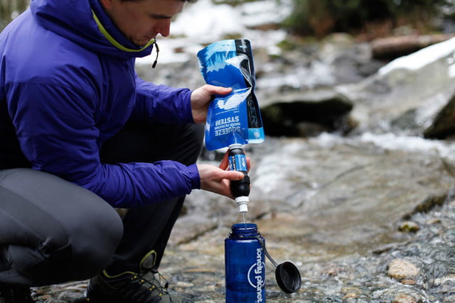 best gadgets and gear for winter camping sawyer squeeze