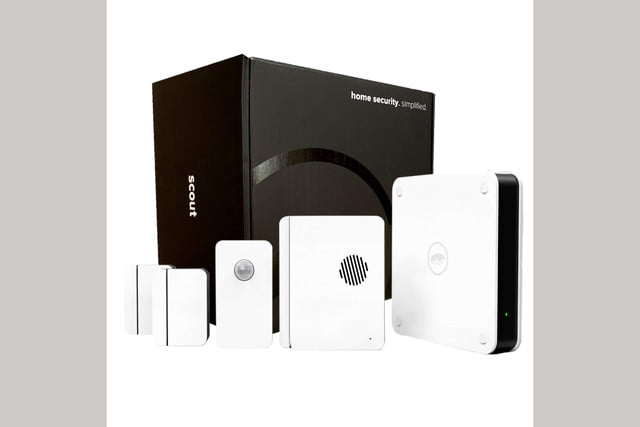 amazon drops post prime day deals on scout alarm diy smart home security kits 5 piece kit  1