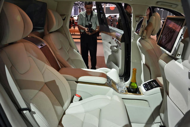 volvo lounge console concept pictures shanghai xc90 excellence 9