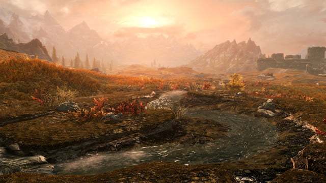 skyrim special edition fallout playstation mod 4k support