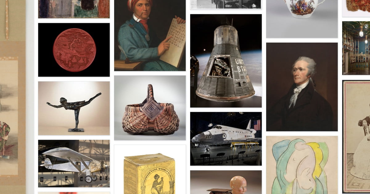 Smithsonian Releases Collection of 2.8M Images for Free Use | Digital Trends