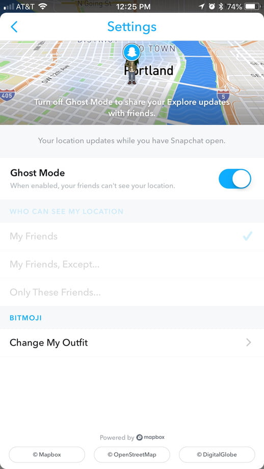 How To Change The Location Privacy Settings