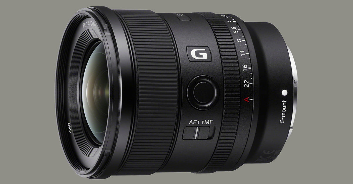 Sony FE 20mm f/1.8 G Enters Fray As Widest E-Mount Prime Yet | Digital Trends