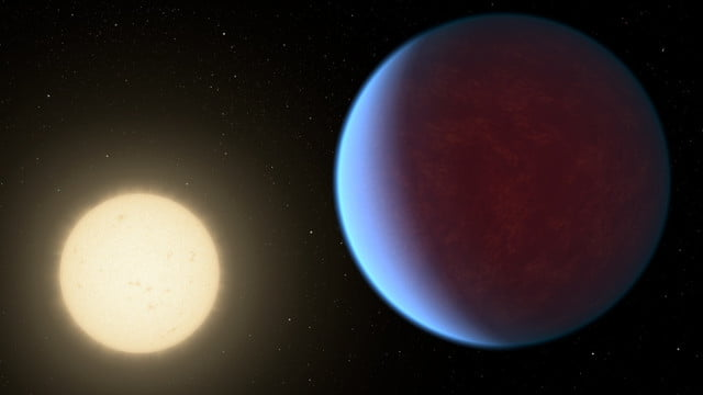 nasa illustrations data 55 cancri e with atmosphere