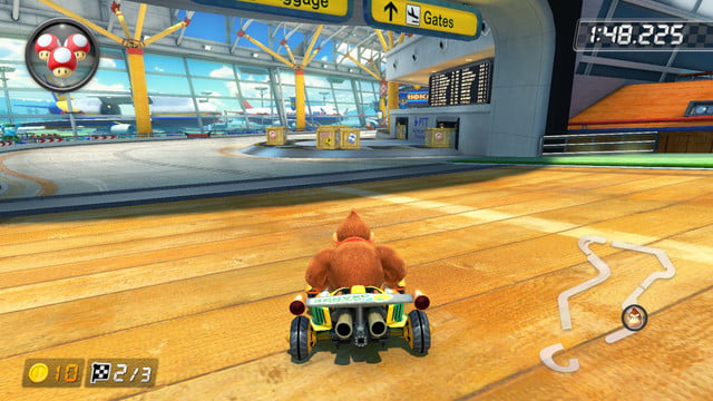 mario kart 8 shortcuts sunshine airport 2