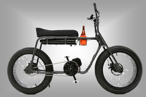 Fun on a 25 mph, electric-powered, two-wheeled cup holder — it even has a seat