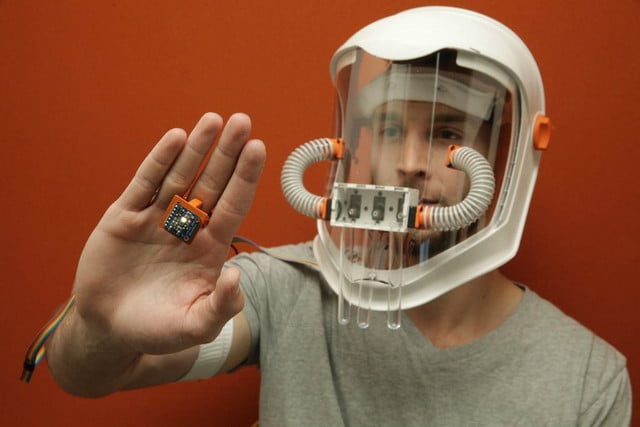 Howard synesthesia mask lets you smell color