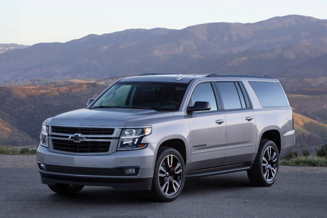 The 2019 Suburban RST Performance Package