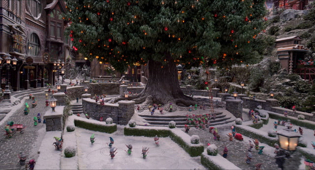 christmas chronicles 2 visual effects interview weta digital the village final
