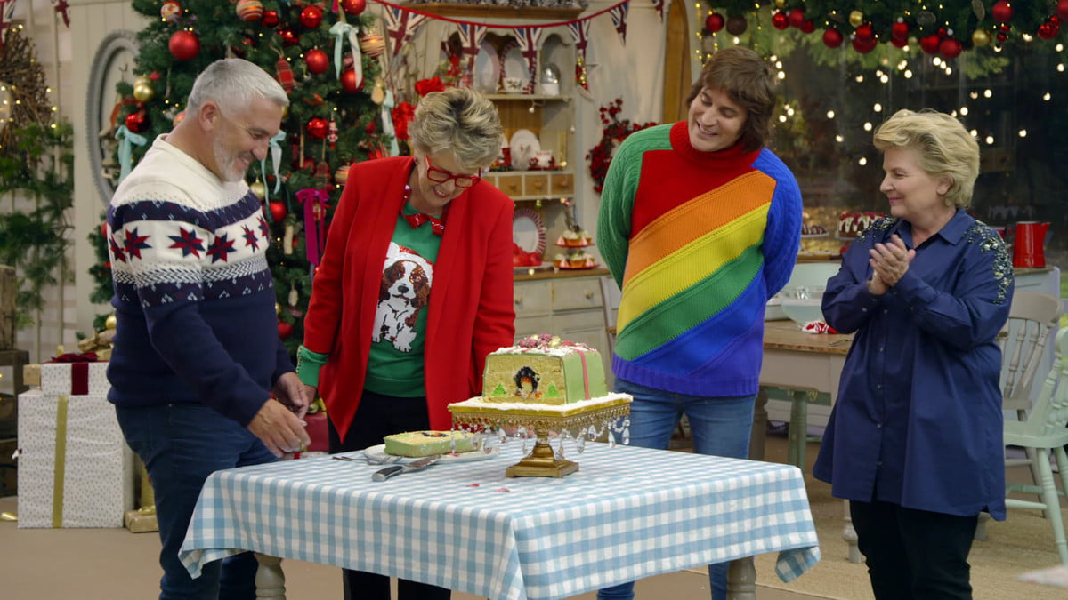 The Great British Baking Show Holiday Edition on Netflix