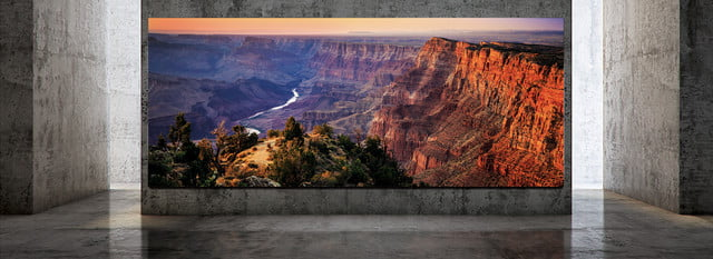 samsung the wall luxury 292 inch 8k microled coming july 2019 luxury1