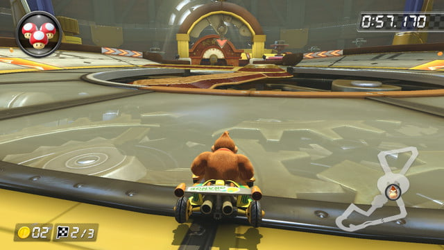 mario kart 8 shortcuts tick tock clock
