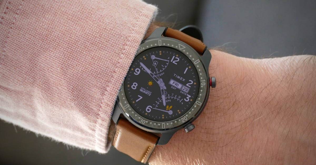 Timex Metropolitan R Smartwatch Hands-on Review