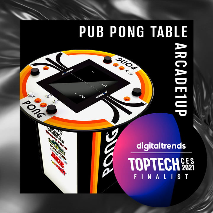 Gaming: Arcade1Up Pong 4-Player Pub Table