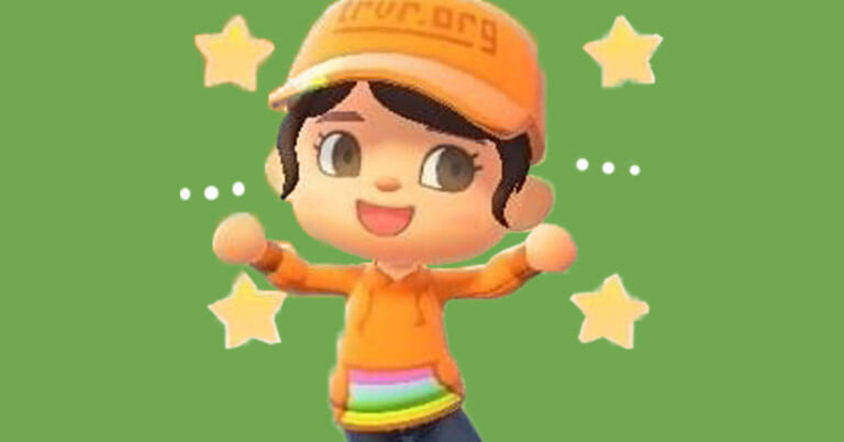 The Trevor Project adds new anti-suicide clothes in Animal Crossing