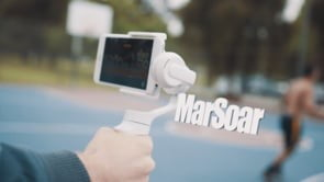 marsoar gimbal 3 axis video stabilization