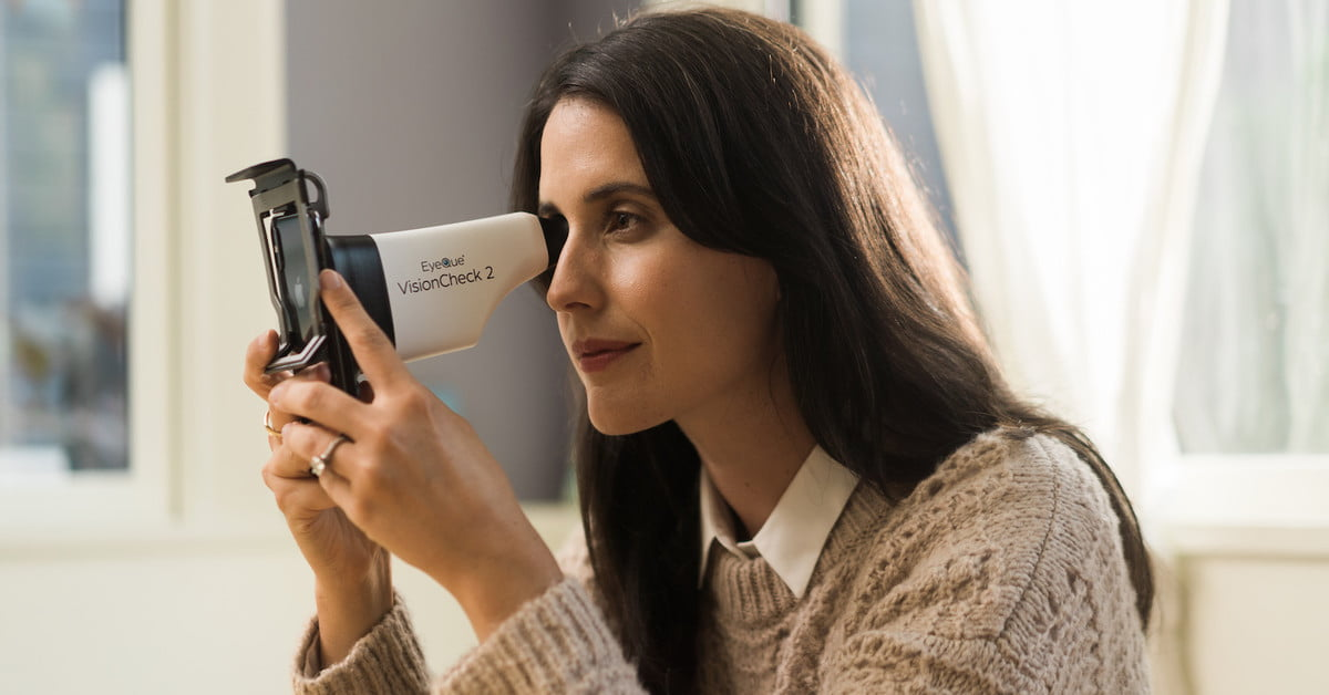 This smartphone accessory means you may never have to see the optometrist again