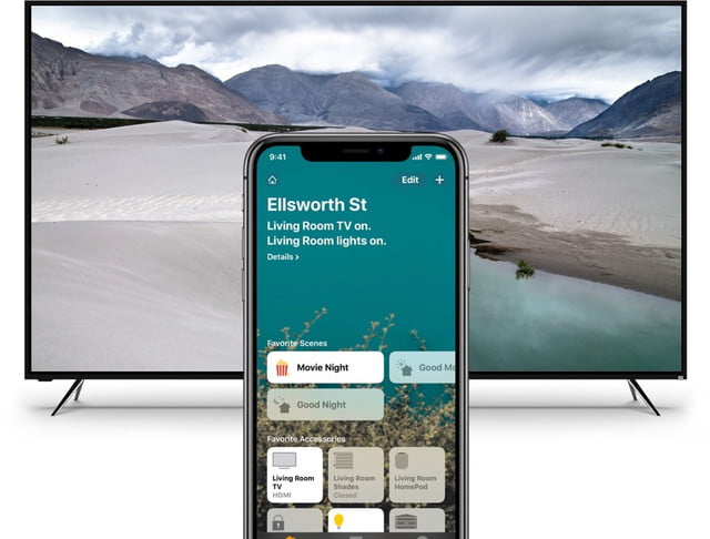vizio airplay 2 scenes homekit