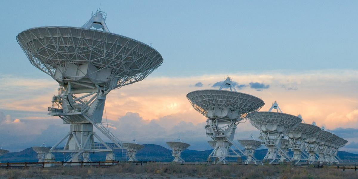 The Very Large Array Will Search for Extraterrestrial Life | Digital Trends
