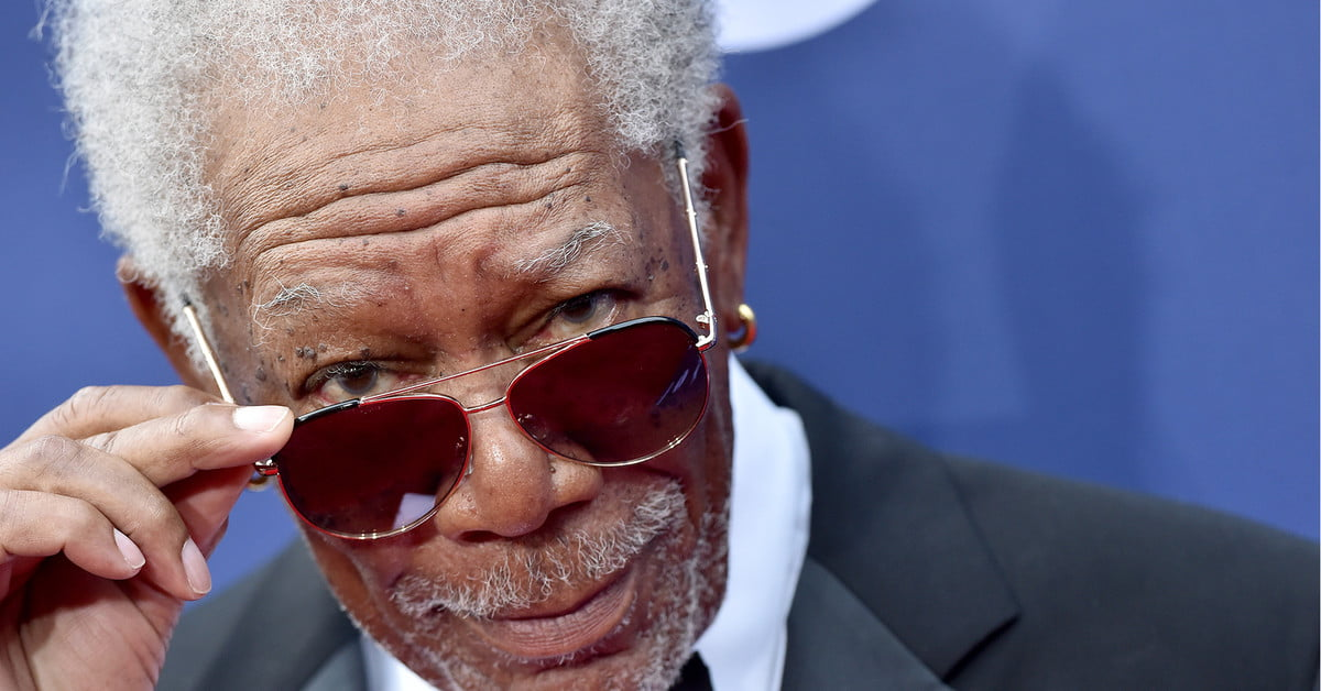 Morgan Freeman talks about how entertainers are performing during the pandemic