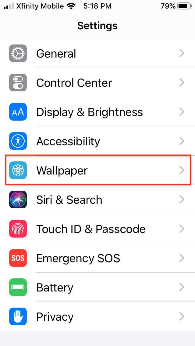 How To Change The Wallpaper On Your Iphone Or Ipad Digital