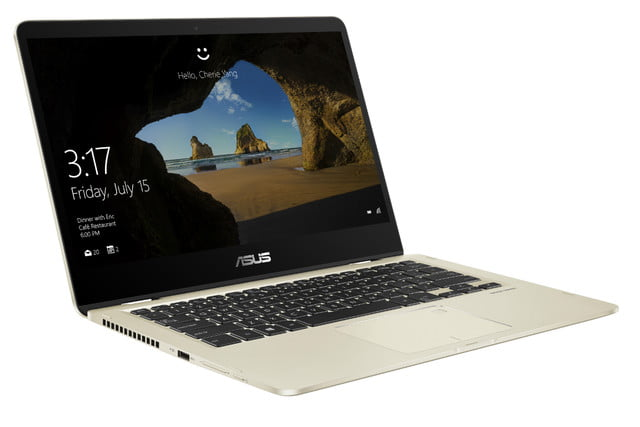 asus zenbook ifa 2017 news flip 14 ux461 product photo  1c icicle gold 07