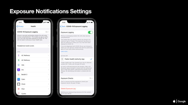 apple google notificaciones seguimiento coronavirus 04 covid 19 exposure notifications settings ios