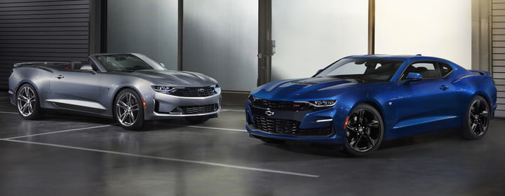 nuevo chevy camaro 2019 line features new front end styling with distinct differences between ls lt  rs and ss including the