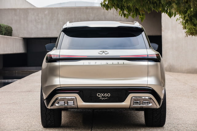 2022 Infiniti QX60 Monograph rear end