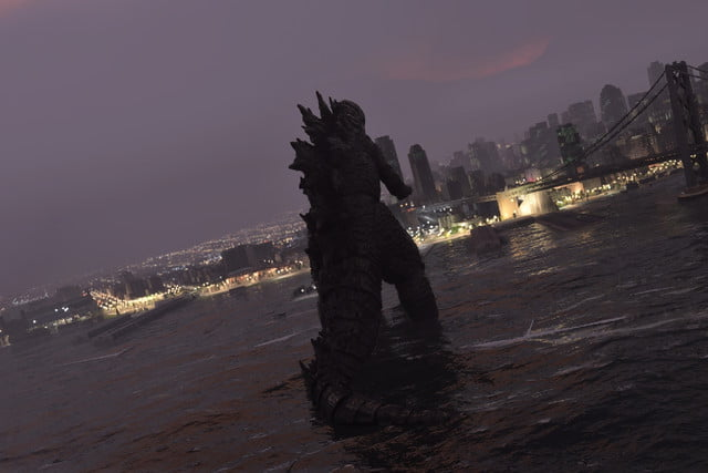 Godzilla en Microsoft Flight Simulator