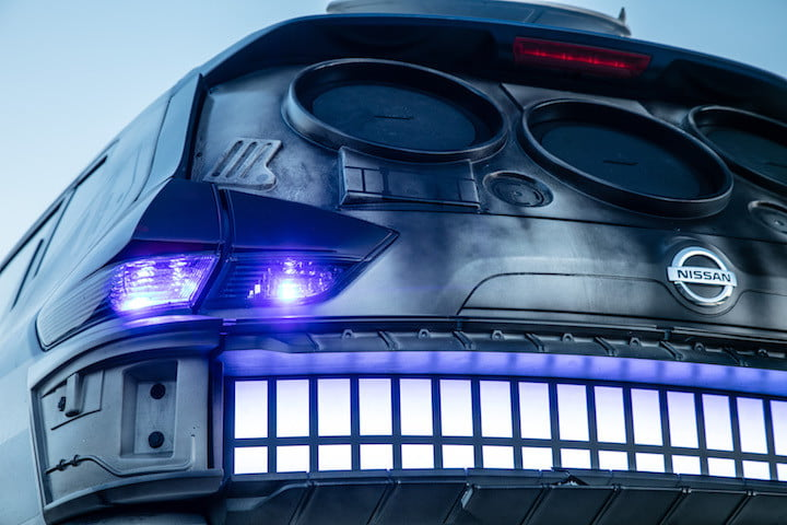 nissan rogue halcon milenario showcases latest star wars themed show vehicle