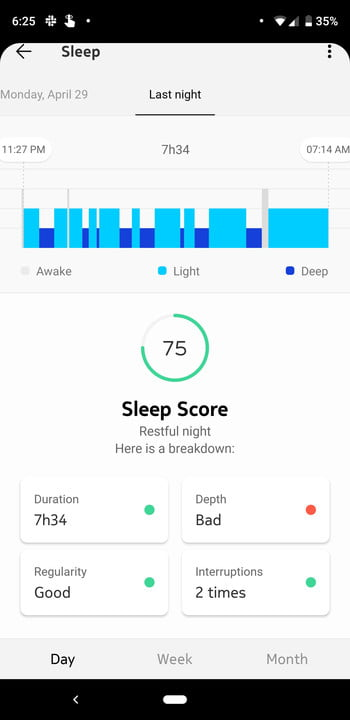 revision withings move reloj hibrido screenshot 20190430 182555