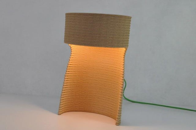 drawn will 3d print your furniture any way you want printed lamp