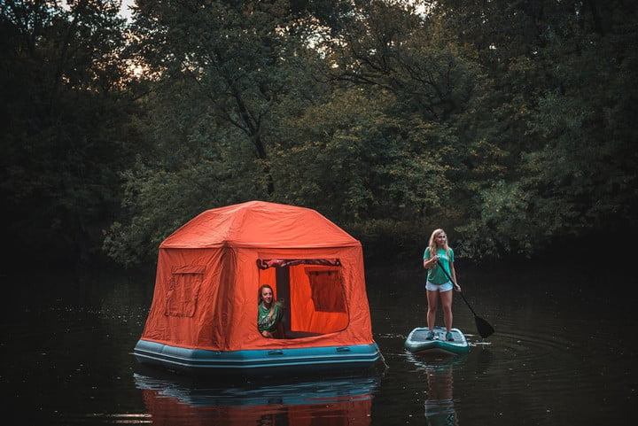Shoal Tent & Let the river lull you to sleep with the innovative Shoal Tent