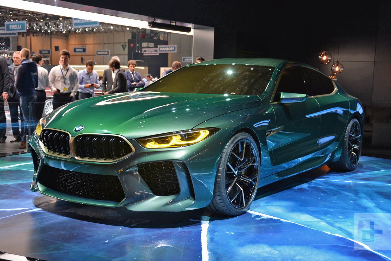Geneva Roundup From Audi BMW VW And More Digital Trends - Bmw car show