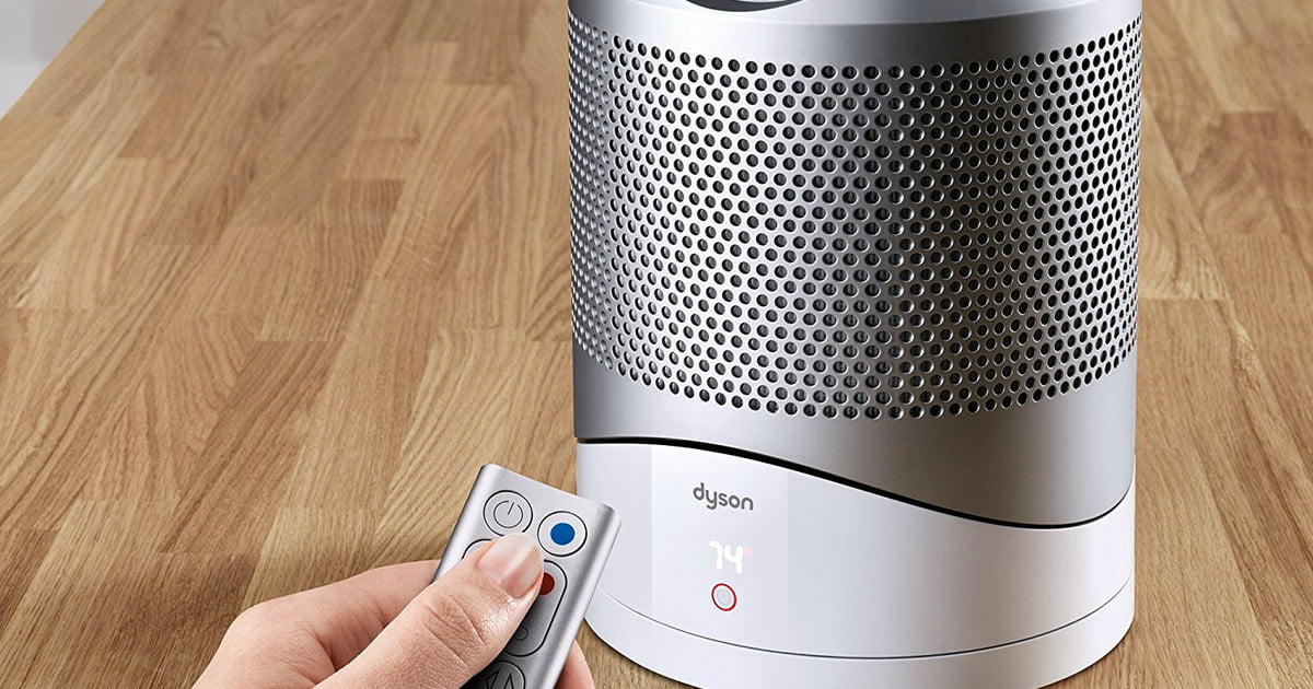 dyson pure hot cool link air purifier deal 100 off regular amazon price digital trends. Black Bedroom Furniture Sets. Home Design Ideas